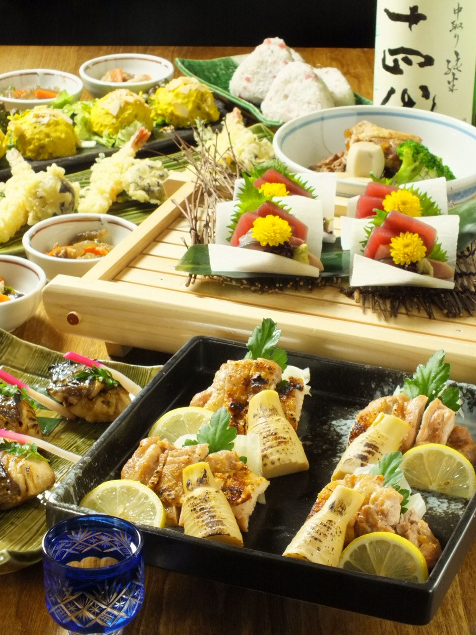 Chicken grill course&Free drink for 2 hours ¥5500(tax included)