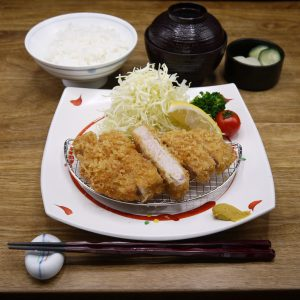 How about lunch at Tonkatsu Hatago?